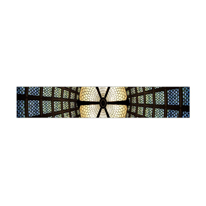 Stained Glass Colorful Glass Flano Scarf (Mini)