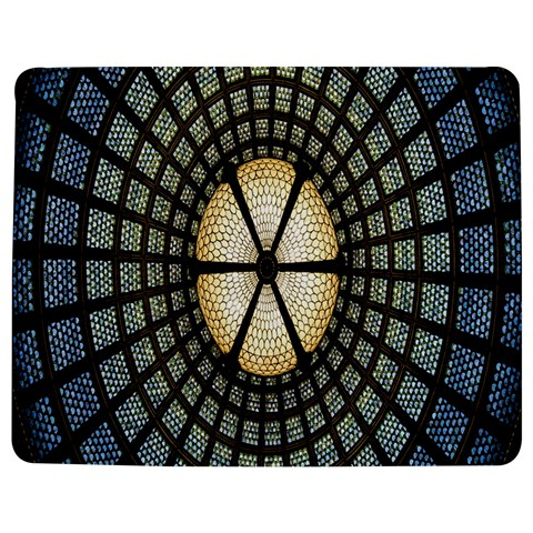 Stained Glass Colorful Glass Jigsaw Puzzle Photo Stand (Rectangular)