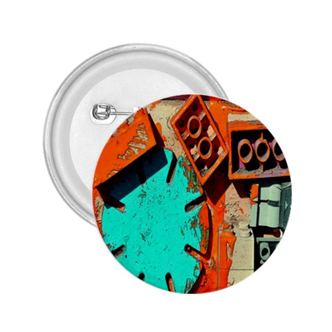 Sunburst Lego Graffiti 2.25  Buttons