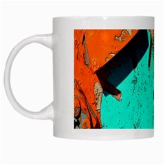 Sunburst Lego Graffiti White Mugs