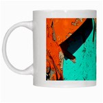 Sunburst Lego Graffiti White Mugs Left