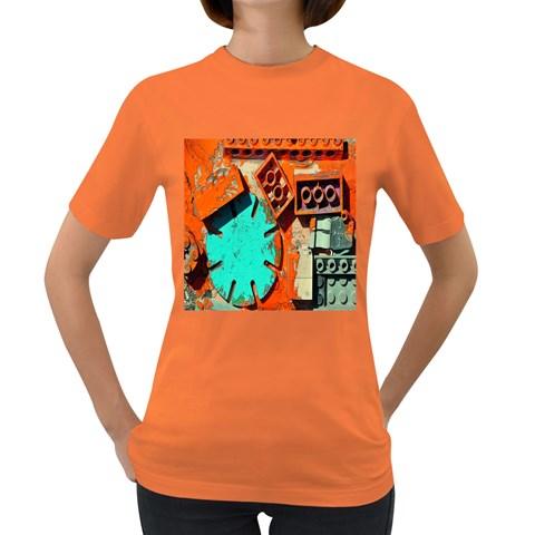 Sunburst Lego Graffiti Women s Dark T-Shirt