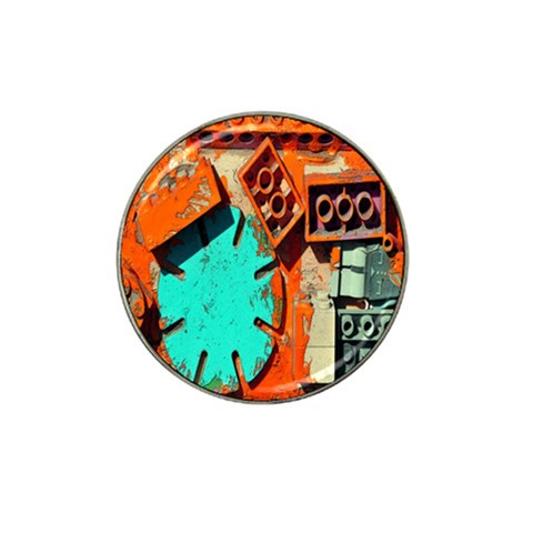 Sunburst Lego Graffiti Hat Clip Ball Marker