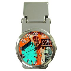 Sunburst Lego Graffiti Money Clip Watches