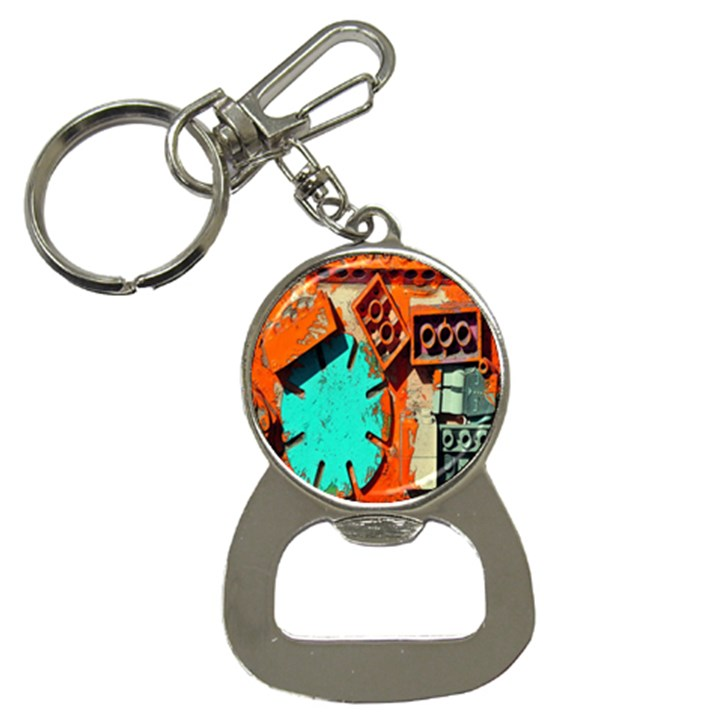 Sunburst Lego Graffiti Bottle Opener Key Chains