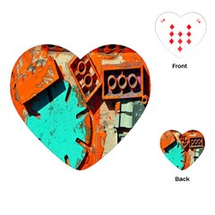 Sunburst Lego Graffiti Playing Cards (Heart)