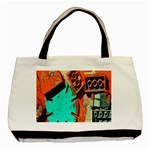 Sunburst Lego Graffiti Basic Tote Bag (Two Sides) Back