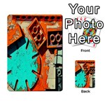 Sunburst Lego Graffiti Multi-purpose Cards (Rectangle)  Front 49