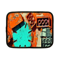 Sunburst Lego Graffiti Netbook Case (Small)