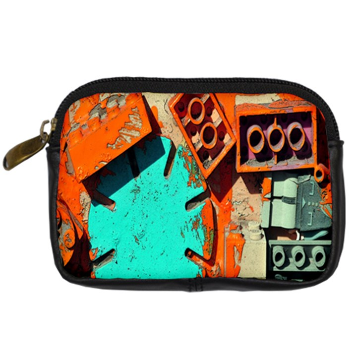 Sunburst Lego Graffiti Digital Camera Cases