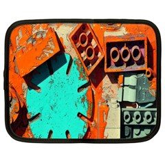 Sunburst Lego Graffiti Netbook Case (XL)