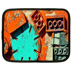 Sunburst Lego Graffiti Netbook Case (XXL)