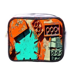 Sunburst Lego Graffiti Mini Toiletries Bags
