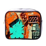 Sunburst Lego Graffiti Mini Toiletries Bags Front
