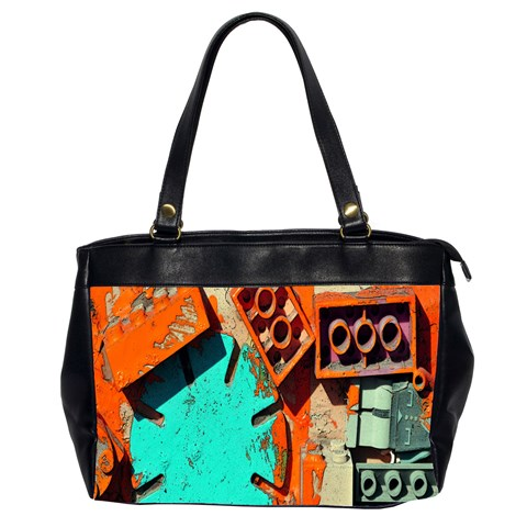 Sunburst Lego Graffiti Office Handbags (2 Sides)