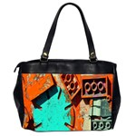 Sunburst Lego Graffiti Office Handbags (2 Sides)  Back