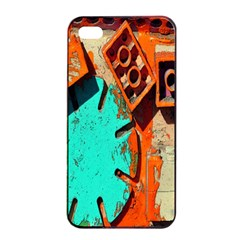 Sunburst Lego Graffiti Apple iPhone 4/4s Seamless Case (Black)