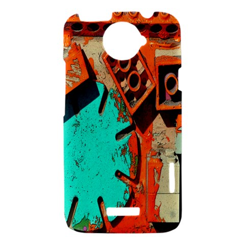 Sunburst Lego Graffiti HTC One X Hardshell Case