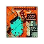 Sunburst Lego Graffiti Acrylic Tangram Puzzle (4  x 4 ) Front
