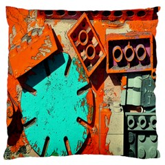 Sunburst Lego Graffiti Large Cushion Case (Two Sides)