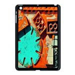 Sunburst Lego Graffiti Apple iPad Mini Case (Black) Front