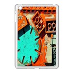 Sunburst Lego Graffiti Apple iPad Mini Case (White) Front