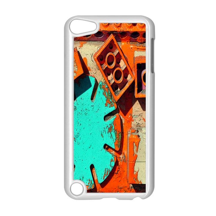 Sunburst Lego Graffiti Apple iPod Touch 5 Case (White)