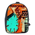 Sunburst Lego Graffiti School Bags (XL)  Front