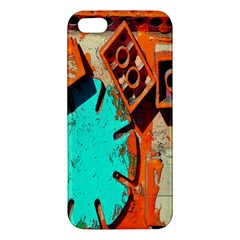 Sunburst Lego Graffiti Apple iPhone 5 Premium Hardshell Case