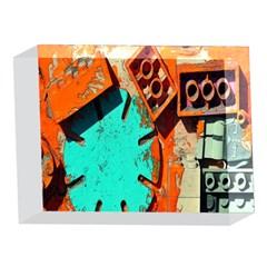 Sunburst Lego Graffiti 5 x 7  Acrylic Photo Blocks
