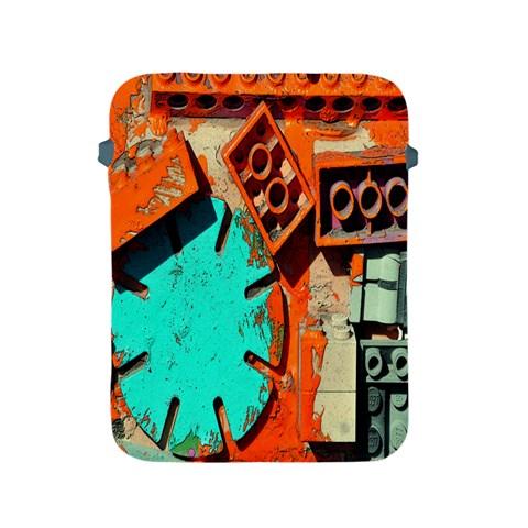 Sunburst Lego Graffiti Apple iPad 2/3/4 Protective Soft Cases