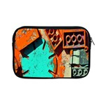 Sunburst Lego Graffiti Apple iPad Mini Zipper Cases Front