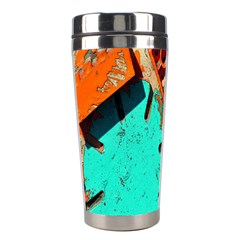 Sunburst Lego Graffiti Stainless Steel Travel Tumblers