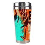 Sunburst Lego Graffiti Stainless Steel Travel Tumblers Center