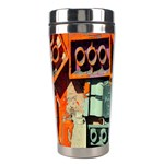 Sunburst Lego Graffiti Stainless Steel Travel Tumblers Right