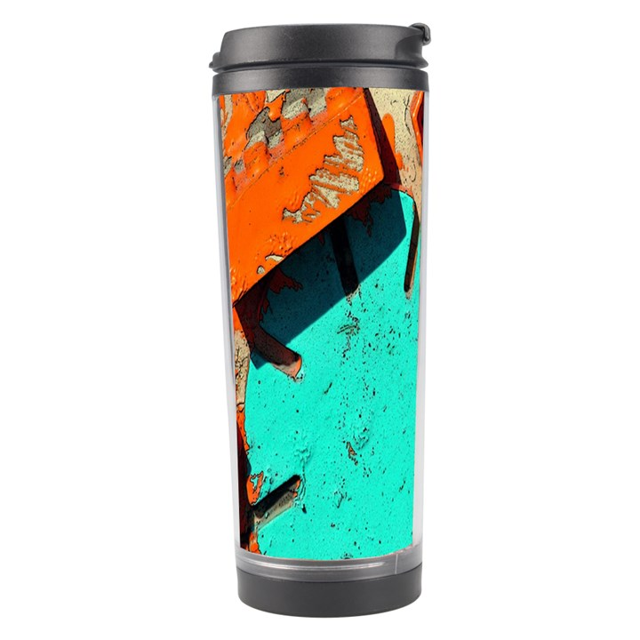 Sunburst Lego Graffiti Travel Tumbler