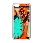 Sunburst Lego Graffiti Apple iPhone 5C Seamless Case (White) Front
