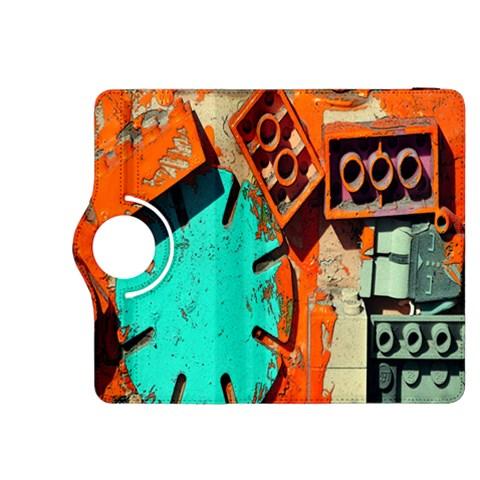 Sunburst Lego Graffiti Kindle Fire HDX 8.9  Flip 360 Case