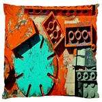 Sunburst Lego Graffiti Standard Flano Cushion Case (Two Sides) Back