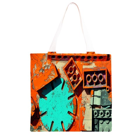 Sunburst Lego Graffiti Grocery Light Tote Bag