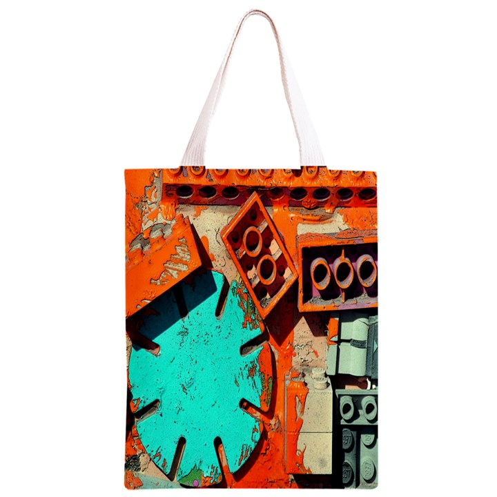 Sunburst Lego Graffiti Classic Light Tote Bag
