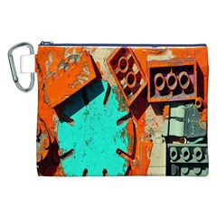 Sunburst Lego Graffiti Canvas Cosmetic Bag (XXL)