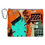 Sunburst Lego Graffiti Canvas Cosmetic Bag (XXL) Front