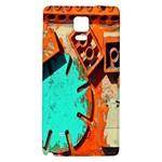 Sunburst Lego Graffiti Galaxy Note 4 Back Case Front