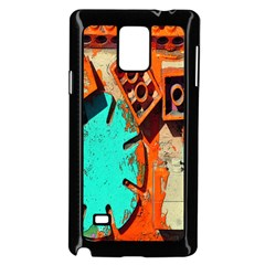 Sunburst Lego Graffiti Samsung Galaxy Note 4 Case (Black)