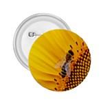 Sun Flower Bees Summer Garden 2.25  Buttons Front