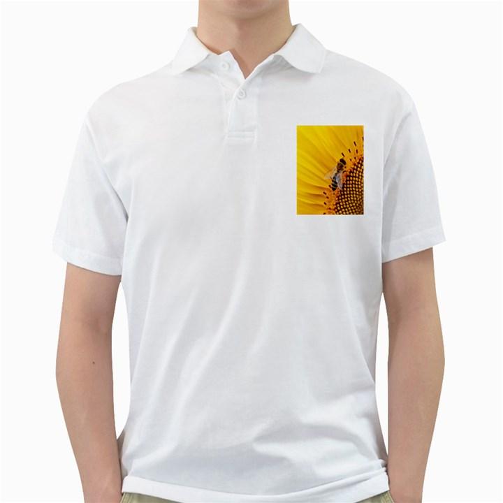 Sun Flower Bees Summer Garden Golf Shirts