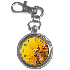 Sun Flower Bees Summer Garden Key Chain Watches