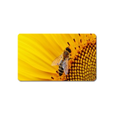 Sun Flower Bees Summer Garden Magnet (Name Card)