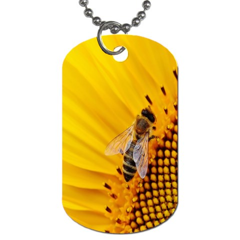 Sun Flower Bees Summer Garden Dog Tag (Two Sides)